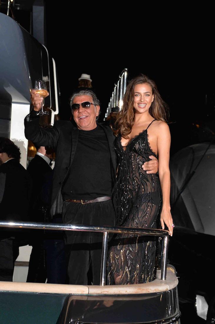 Roberto Cavalli, Irina Shayk in Roberto Cavalli