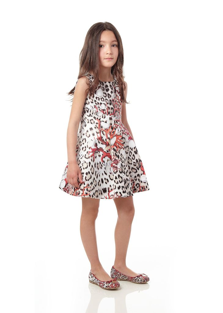 Roberto Cavalli Junior_Girl SS 2015