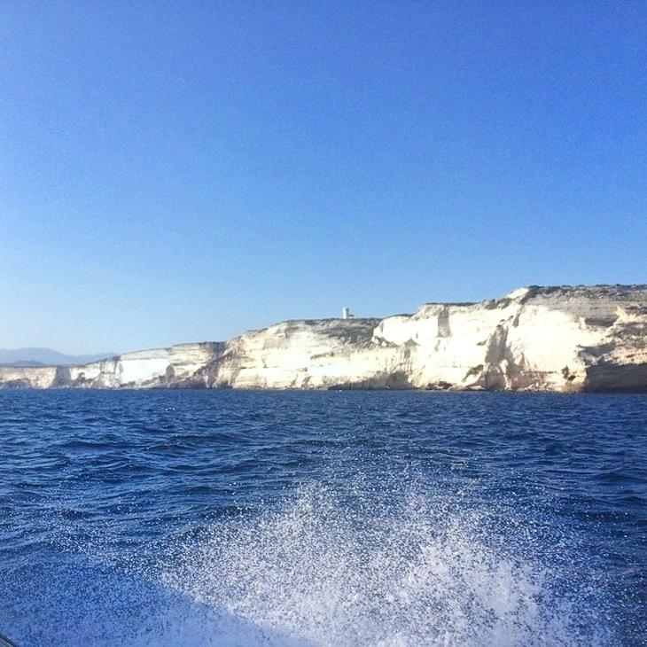 white rocks of Bonifacio