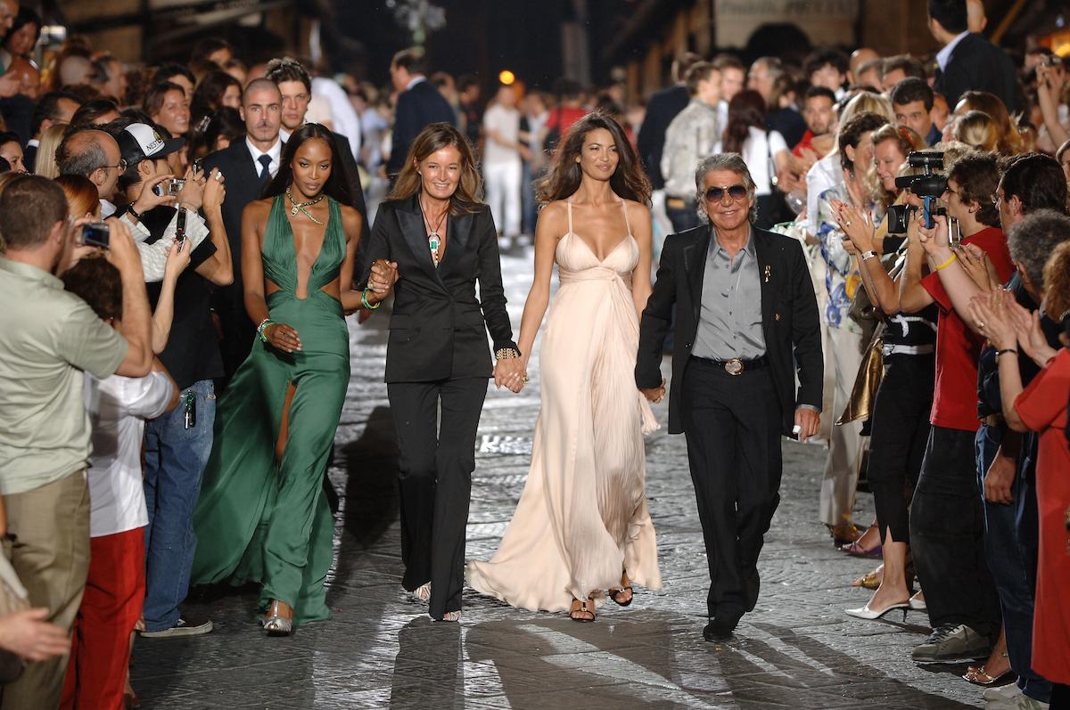 Roberto Cavalli Sfilata Ponte Vecchio - Finale