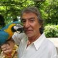 Roberto Cavalli with Parrot