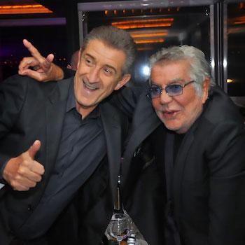 Roberto Cavalli with Ezio Greggio 428