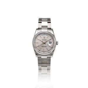 Rolex Oyter Daydate ref 118209 in oro bianco