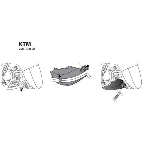 Acerbis Motorschutz KTM SX / EXC/, Husqvarna FE 300 2T