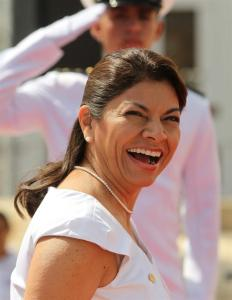Ecelentísima Presidenta de la República de Costa Rica.