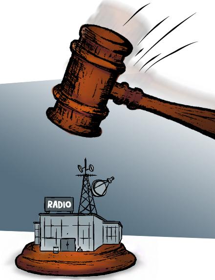 Televisoras que controlan concesiones de TV ante SUTEL, una con deudas ante la CCSS y, otras NO están inscritas.