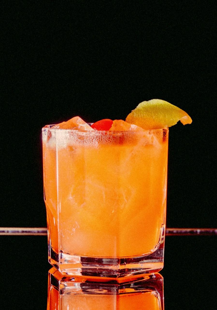 Recipe: 5cl Aperol 3cl Lemon Juice 1cl Sugar Syrup 1cl Orange Juice