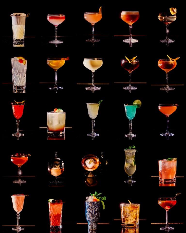 Roberto American Bar Cocktails 2