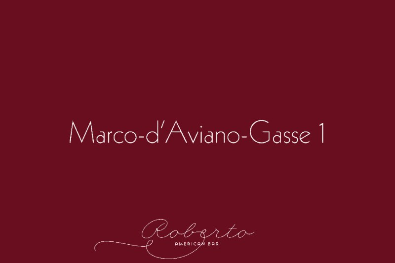 Roberto American Bar - Marco d'Aviano Gasse 1