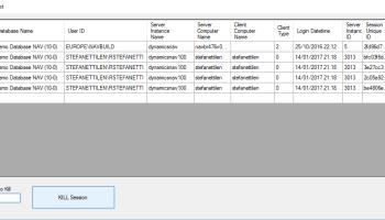 SQL Sessions Killer 2 0 – Roberto Stefanetti NAV & Business Central Blog