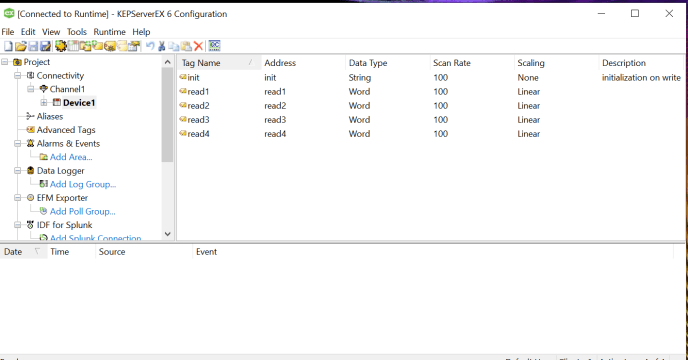 KEPServerEx is a really solid way to create the DDE connection when using Excel as Data Acquisition Software