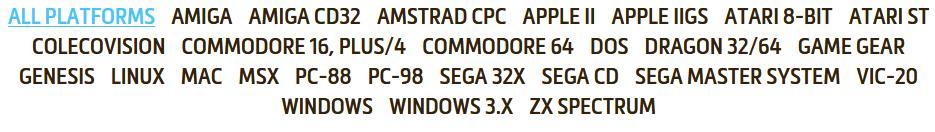 DOS RETROGAME WINDOWS 10