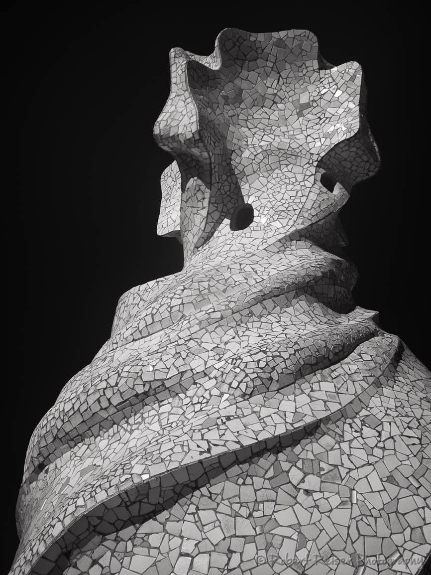 Antoni Gaudi in Barcelona  a Reflection on Forms and
