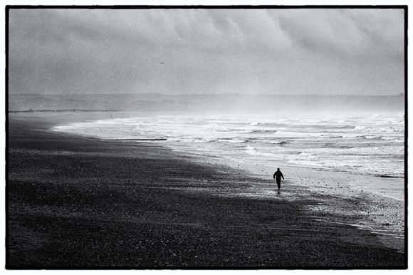 Tramore Strand by Robert Revill