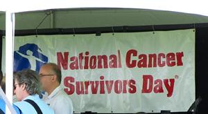 National Cancer Survivors Day Banner