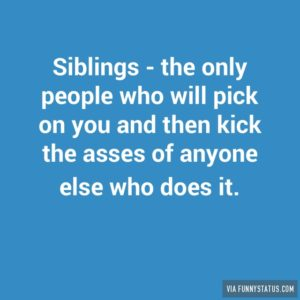 May 30 – Love Like a Sibling