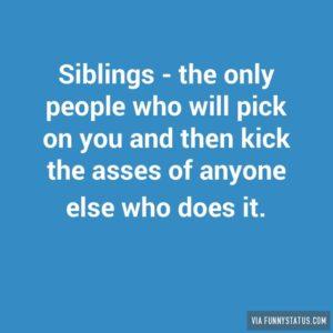 May 30 – Love Like a Sibling