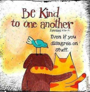 October 4 – Be Kind