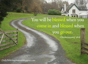 November 3 – You Will Be Blessed