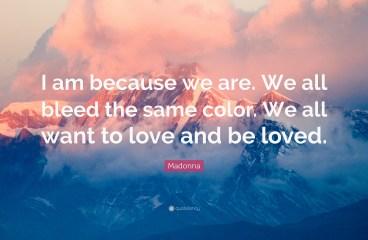 July 24 – Love Is Universal