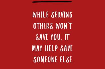 September 12 – Service For The Joy Of Service