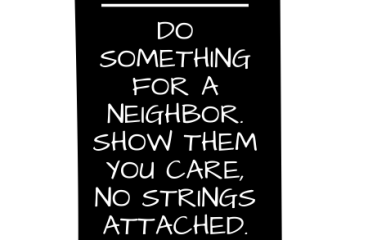 Oct 2 – Random Acts Of Service