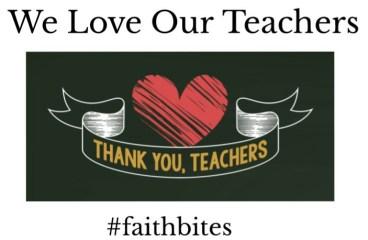 Apr 18 – We Love Our Teachers