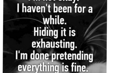 July 7 – Pretending Is Exhausting