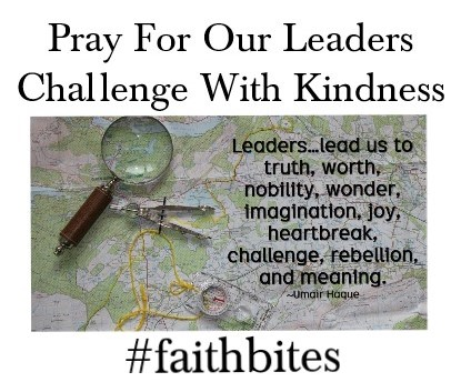 Aug 11 – Pray for Our Leaders
