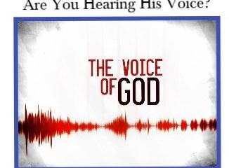 Sep 11 – God's Voice