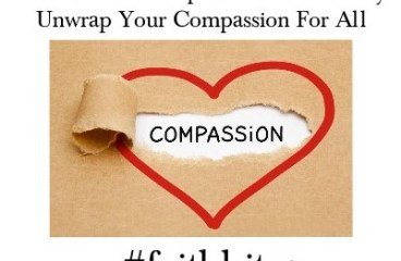 Nov 16 – What Is Your Compassion Index Today?