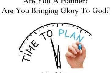 Nov 27 – Making A Plan