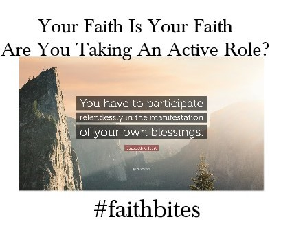 active in your faith