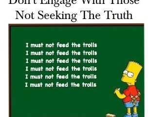 January 18 – Don't Feed The Trolls