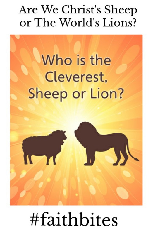 February 19 – Lions and Lambs: God's Chosen