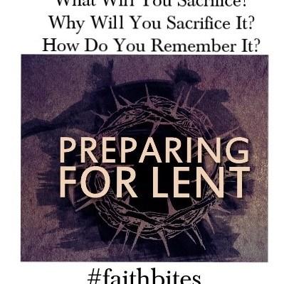 Prepare for Lent