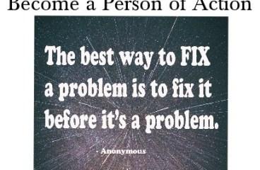 April 14 – Fix It Now, Don't Let It Fester