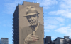 Mural of Leonard Cohen