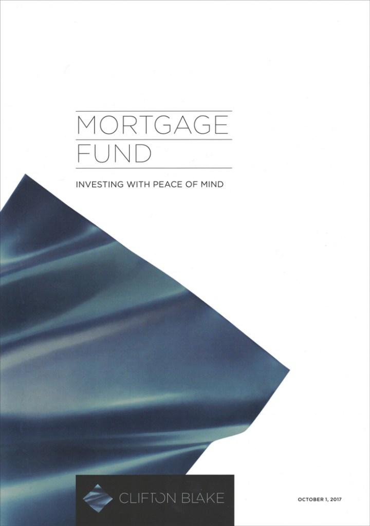 Brochure for Clifton Blake