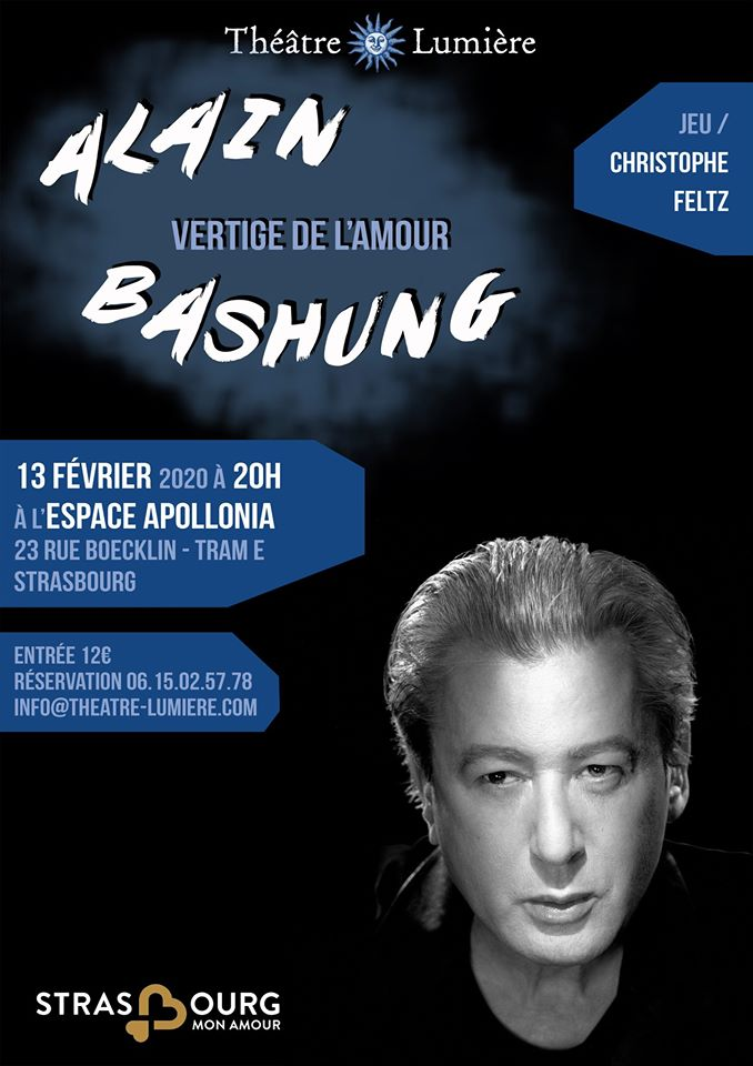 Alain Bashung Vertige De L Amour : alain, bashung, vertige, amour, Théâtre, Musical, Vertige, L'Amour, D'Alain, Bashung, Février, 20h00, Robertsau.eu