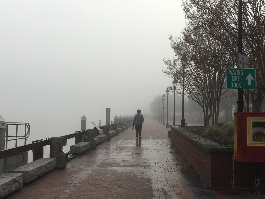 River walk Fog