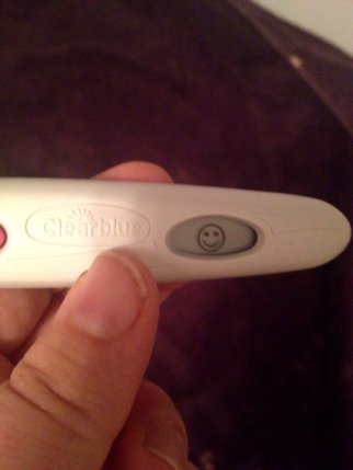 December 21 2014 Ovulation Stick Positive