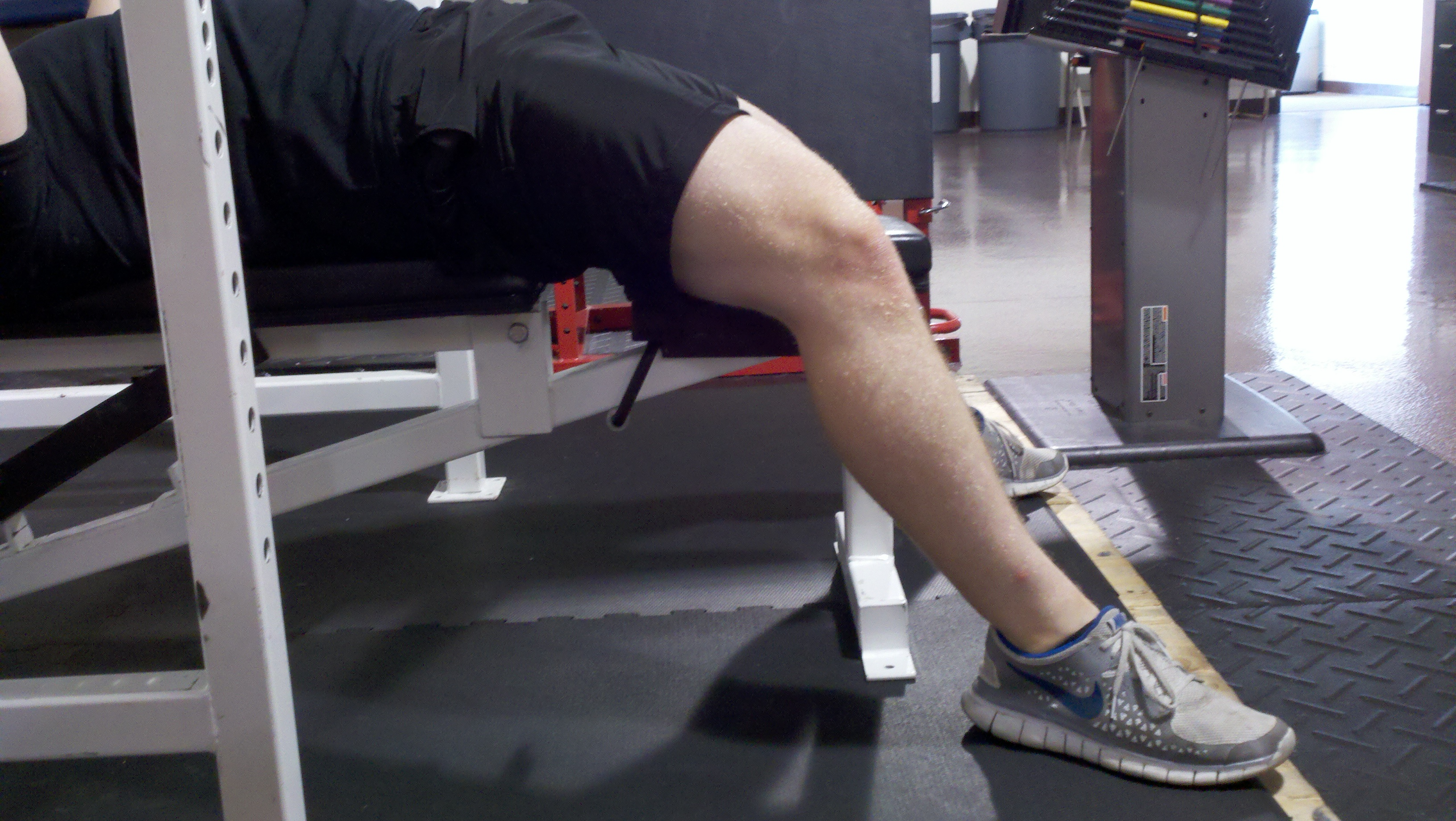 Immediately Moved Into This Bench Press And Pull Up Circuit