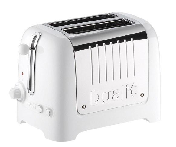 Dualit brödrost vit och aluminium - finns hos inreda.com