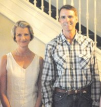 Tessa and Terry Taylor, 2011.