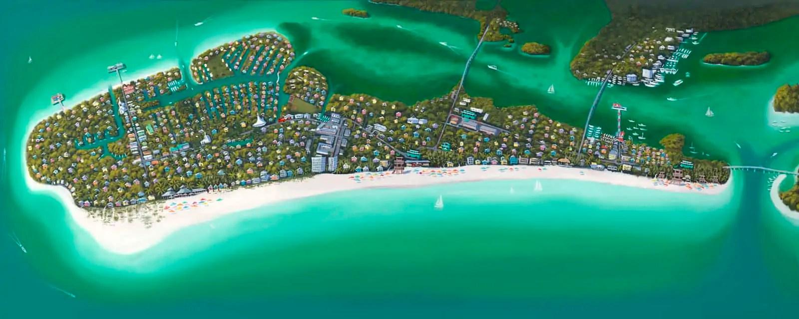 anna maria island map