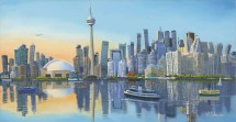 Toronto Skyline Funky - Robert Artist