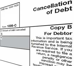 Bankruptcy, short sale, debt forgiveness tax and the