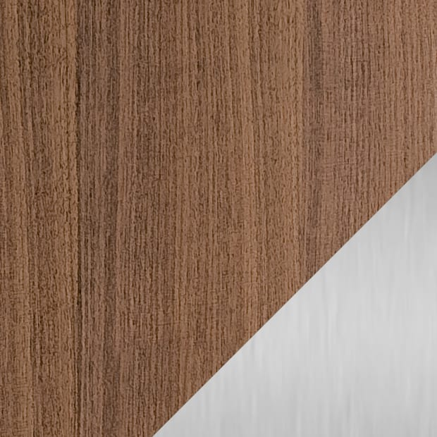 Natural Walnut / Satin Nickel