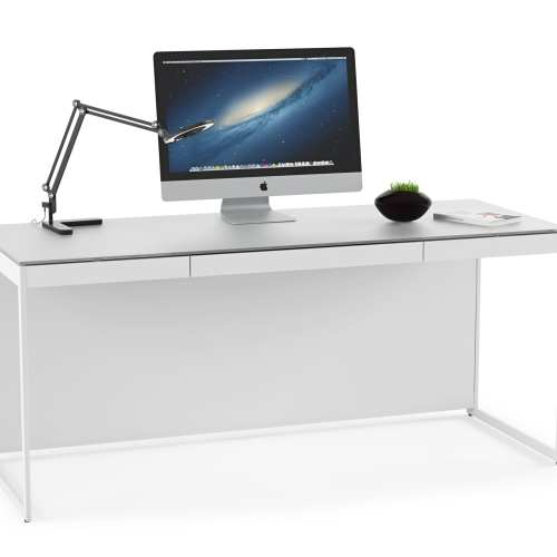 Centro Office Desk 6401 Satin White 2